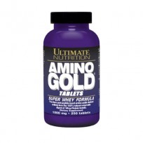 Ultimate Nutrition Amino Gold 1000mg 250 tabs.