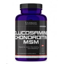 Ultimate Nutrition Glucosamine + Chondroitin + MSM 90 tab.