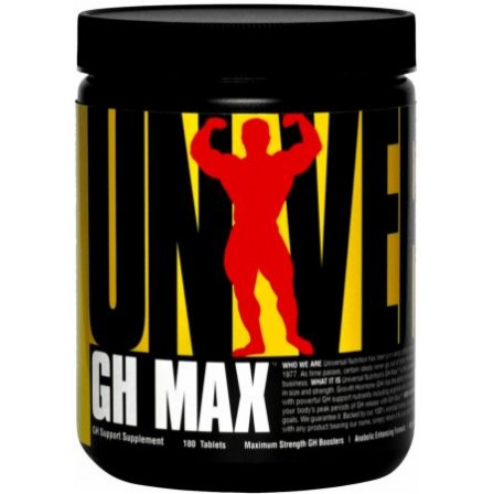 Universal Nutrition GH Max 180 tabs.