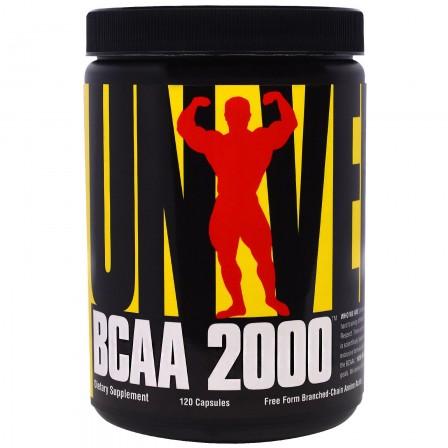 Universal Nutrition BCAA 2000 120 caps.