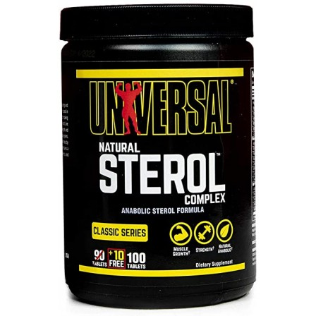 Universal Nutrition Natural Sterol Complex 100 tabs.