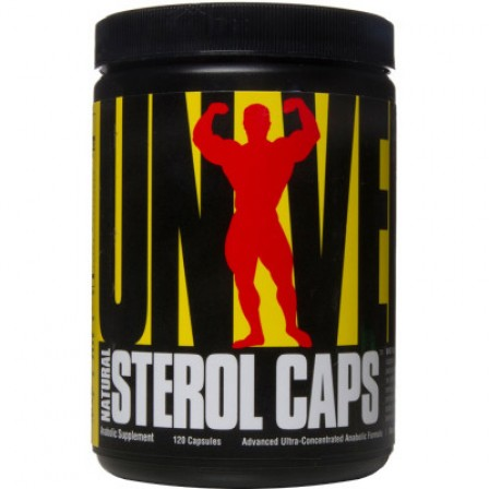 Universal Nutrition Natural Sterol Caps 120 caps.