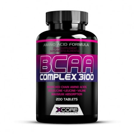 Xcore BCAA Complex 3100 200 tabs.