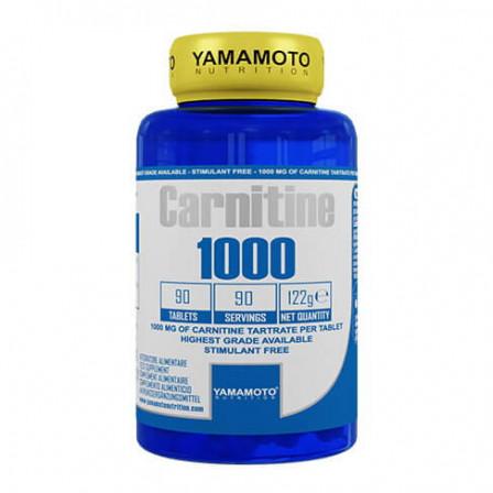 Yamamoto Nutrition Carnitine 1000 90 tabs.