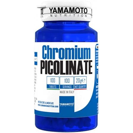 Yamamoto Nurition Chromium Picolinate 100 tabs.