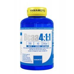 Yamamoto Nutrition BCAA 4:1:1 200 tabs.