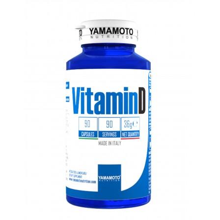 Yamamoto Nutrition Vitamin D 90 caps.